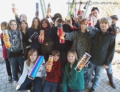 Lochkamera Klasse 7b Schuljahr 2007/08