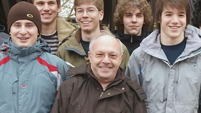 Rolf Peiffer, Lehrer Mathematik/Physik, Leistungskurs Physik 2008 © CJD-UPDATE/A. Bubrowski