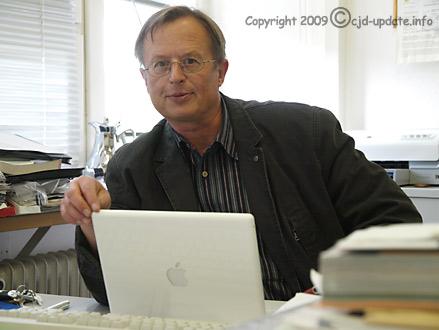 Peter Falkenrodt 2009 © CJD-UPDATE/A. Bubrowski