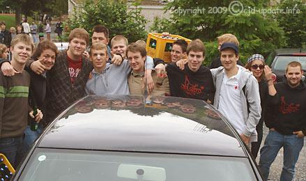 In Ermangelung verfügbarer Fotos vom Event: Abiturjahrgang 2009 auf dem Weg zum Abistreich. Bild: BUB