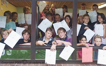 Klasse 7g 2009 © A. Bubrowski/CJD-UPDATE