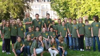 Klasse 5b (2009) © A. Bubrowski/CJD-UPDATE