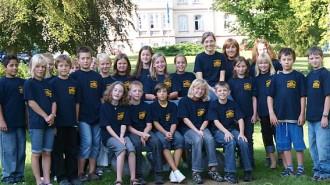 Klasse 5c (2009) © A. Bubrowski/CJD-UPDATE