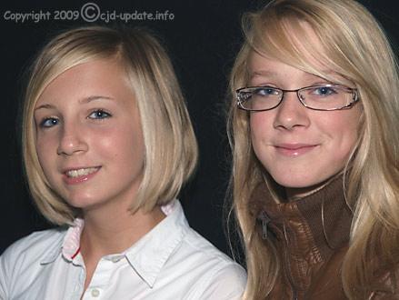 Katharina und Melissa 2009 © A. Bubrowski/CJD-UPDATE