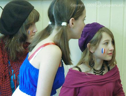 Sich schminken - mehr als Spielerei © A. Bubrowski/CJD-UPDATE