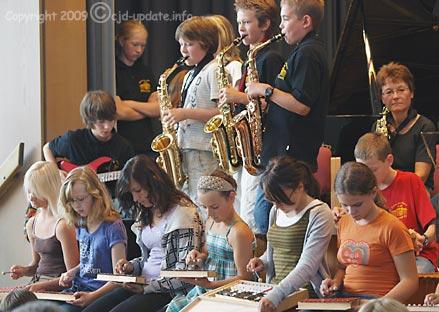 Kunst und Musik sind Drogen-Prävention © A. Bubrowski/CJD-UPDATE, 2009