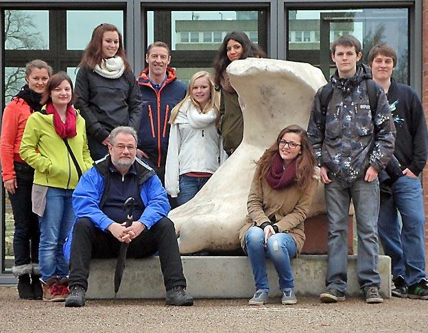 Studienfahrt der Lateiner der Jahrgangsstufe 12 - 2013. Foto: privat