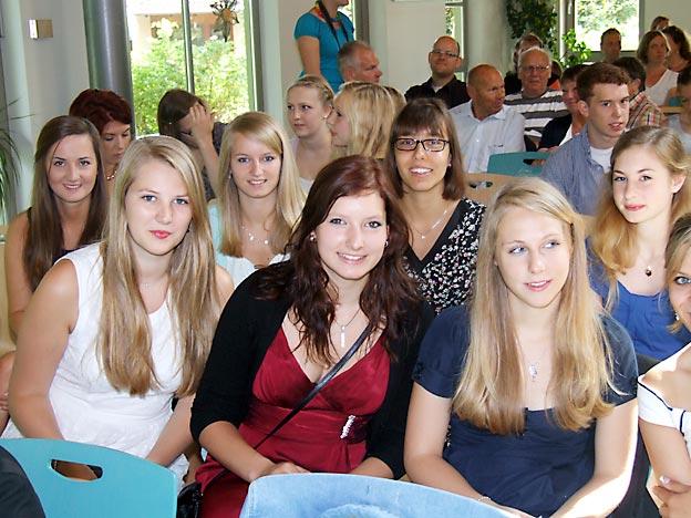 Feierliche Verabschiedung der Schüler des Abiturjahrgangs 2013. Bild: DREMO/CJD Oberurff