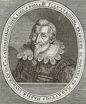 Moritz von Hessen-Kassel. Kupferstich,Theatrum Europaeum, 1662