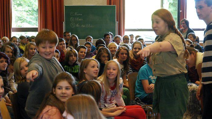 Among pupils