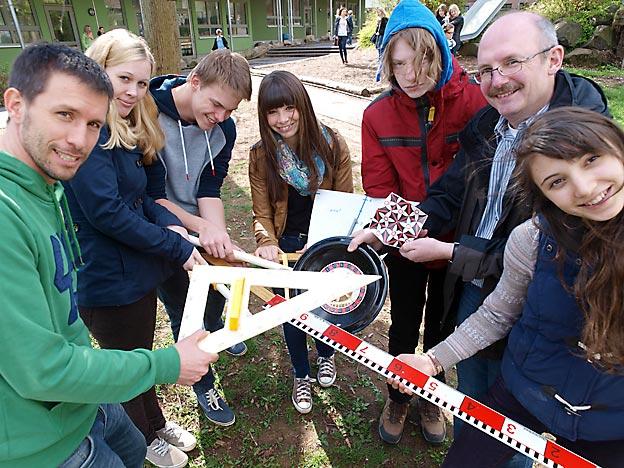 Erfolgreiche Teilnehmer am Wettbewerb des ZFM. Bild: A. Bubrowski/CJD Oberurff