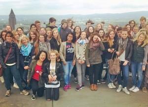 Schülergäste aus Frankreich. Foto: privat