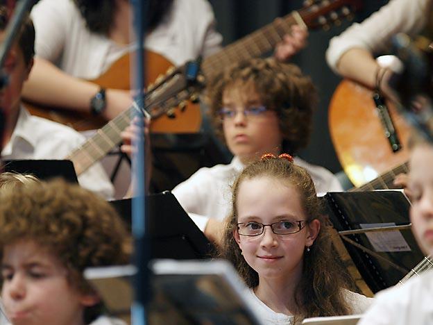 Gitarrenensemble. Bild: A. Bubrowski/CJD Oberurff