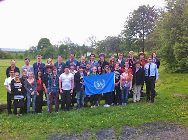 Teilnehmende Schüler der Jahrgangsstufen 12 und 13. Foto: P. Falkenrodt