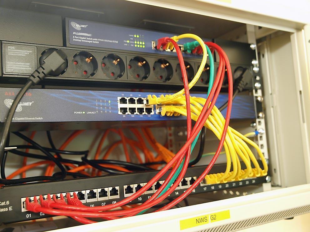 Netzwerkverteilung im G-Bau. Bild: BUB