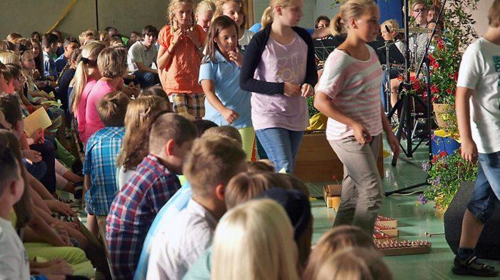 Feierliche Schulaufnahme 2013.