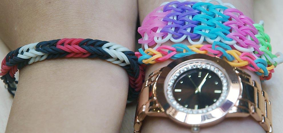 Rainbow Loom Bands - für manche cool, oft giftig