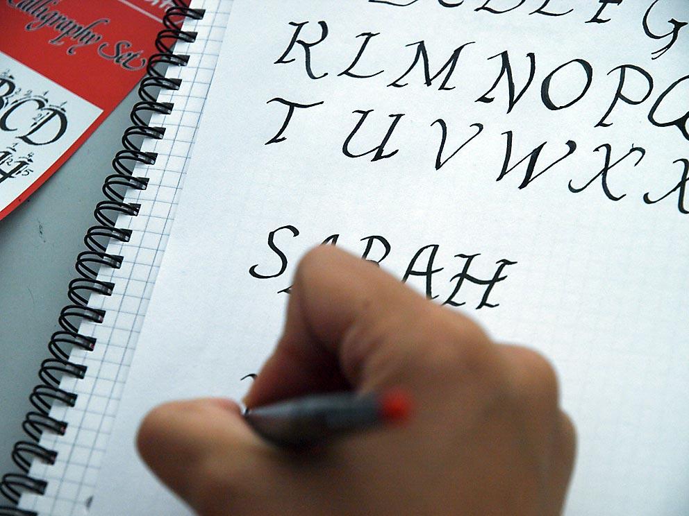 Handschrift als Kunstform