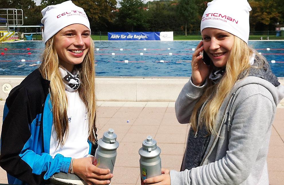 Lea Klawe und Hanna Marggraf stahlen um die Wette