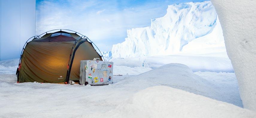 In den Herbstferien in die Antarktis.