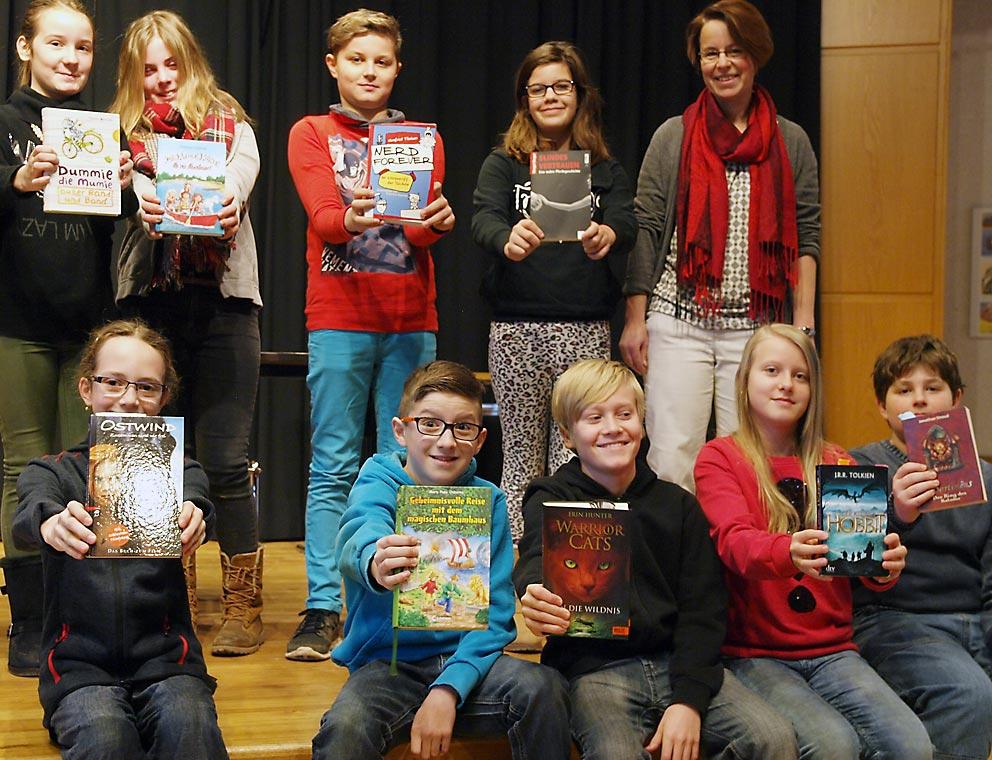 Buchartisten der Christophorusschule Oberurff. Bild: A. Bubrowski/CJD Oberurff