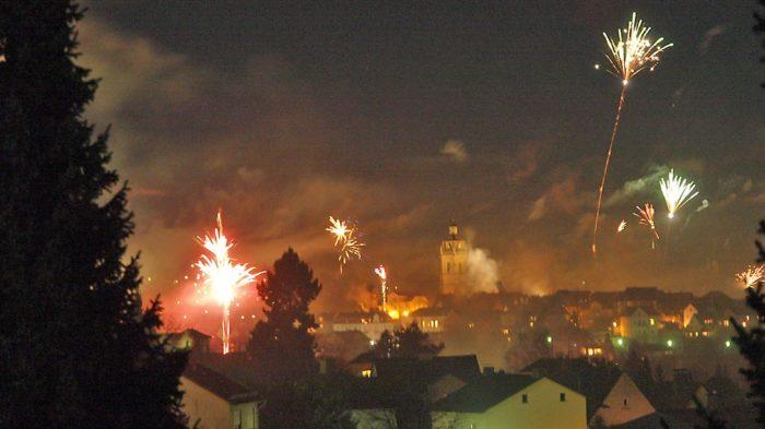 Nordhessen feiert das Neue Jahr - Bad Wildungen. Bild: Andreas Bubrowski