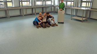 Physik-Haus-Leere | Bild: A. Bubrowski/CJD Oberurff