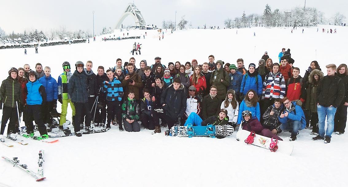Wintersporttag. Foto: D. Müller-Maguhn/CJD Oberurff