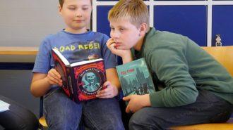 Welttag des Buches: Guck mal! Bild: Andreas Bubrowski/CJD Oberurff