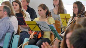 Schulorchester des CJD Oberurff. Bild: Andreas Bubrowski/CJD Oberurff