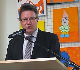 Schulleiter Günter Koch.Foto: M. Moniac/CJD Oberurff