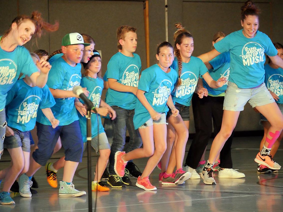 Projekt YOUNG AMERICANS im CJD Oberurff | Bild: A. Bubrowski/CJD Oberurff