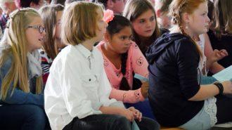 Schulaufnahme 2015, Spannung, Bild: Andreas Bubrowski/CJD Oberurff