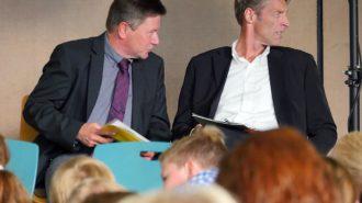 Günter Koch & Jörg Bruns. Bild: A. Bubrowski/CJD Oberurff