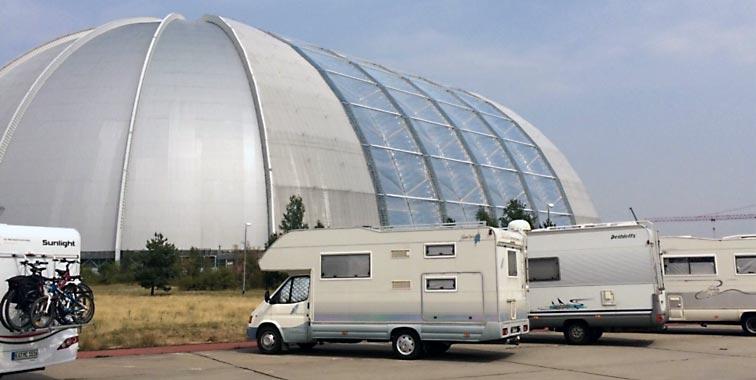Größte freischwebende Halle der Welt. Foto: privat