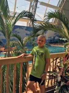 Der Verfasser im Schwimmbad. Foto: privat