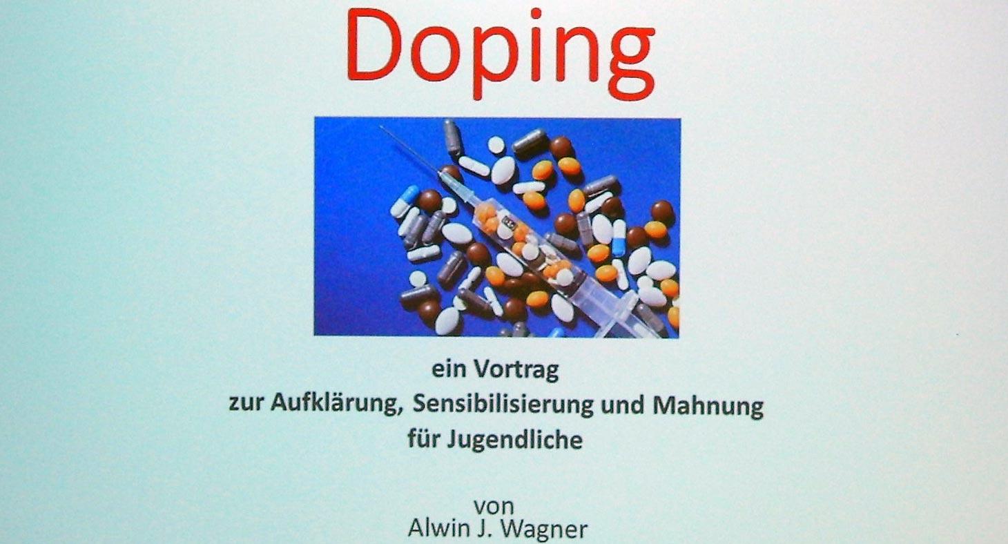 Vortrag von Alwin Wagner, ein Protagonist der Leichtathletik-Szene 1981-1986. Foto: privat