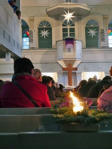 Musikschule des CJD Oberurff sorgt für Adventsstimmung in der Kirche von Bad Zwesten.