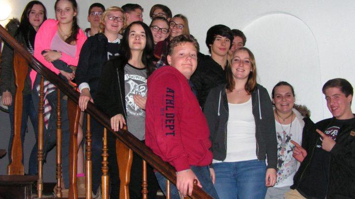 Die neue Schülervertretung im Internat. Foto: privat