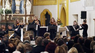 Violinen-Ensemble | Bild: Andreas Bubrowski/CJD Oberurff