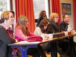 Jury zum Vorlesewettbewerb 2015 | Bild: A. Bubrowski/CJD Oberurff
