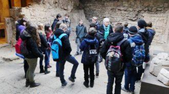 Bei Untergrundarbeiten in der dicht bebauten Altstadt von Marburg wurden die Reste einer Synagoge entdeckt. Bild: Andreas Bubrowski/CJD Oberurff