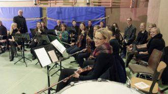 Schulorchester von Christoph Heimbucher