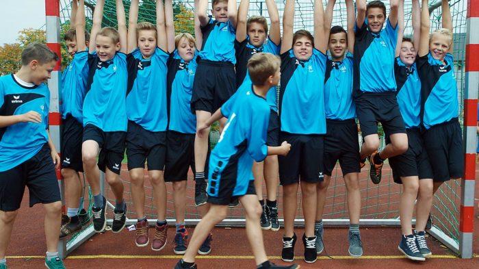 Fußball-AG (2013) | Bild: Andreas Bubrowski/CJD Oberurff