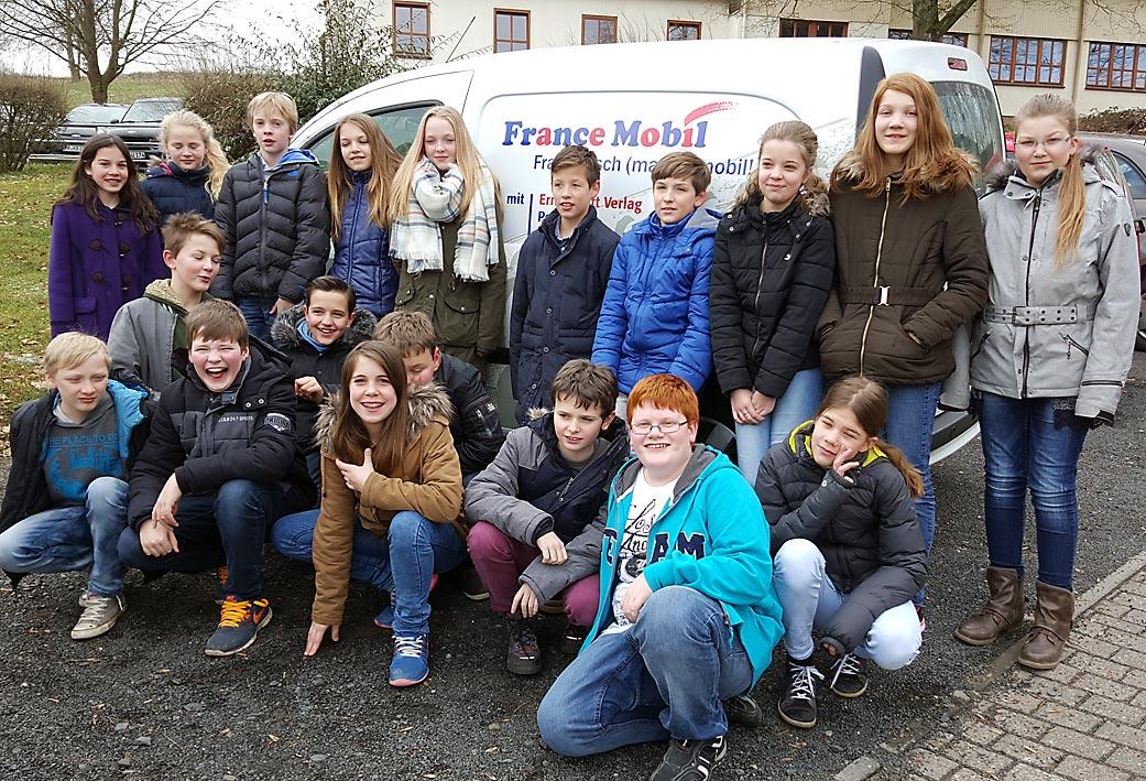 FranceMobil besucht auch 2016 Christophorusschule| Foto: Christina Lechner/CJD Oberurff