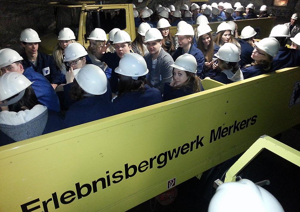 Besuch im Erlebnisbergwerk Merkers. Foto: privat
