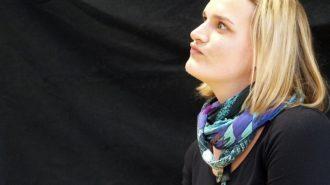 Anderssein | Christiane Heer im Interview ohne Worte | Bild: Andreas Bubrowski/CJD Oberurff