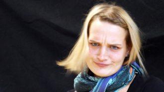Ernste Sache | Christiane Heer im Interview ohne Worte | Bild: Andreas Bubrowski/CJD Oberurff