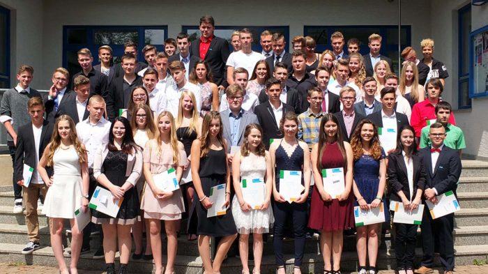 Die Absolventen der Realschule 2016