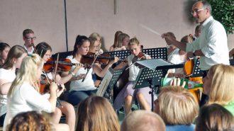 Schulorchester   Foto: A. Bubrowski/CJD Oberurff
